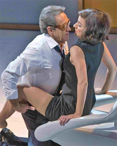 Greece is the word: Robert Lindsay and Lydia Leonard star in 'Onassis'