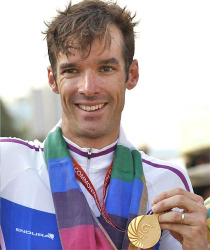 David Millar is subject to a British Olympic ban because of blood-booster use but was given special dispensation to compete in Delhi by Scotland
