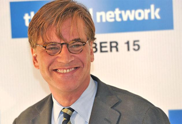 Aaron Sorkin says he was 'writing about a very angry and deeply misogynistic group of people'
