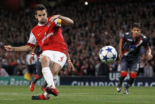 Cesc Fabregas is unlikely to return for Arsenal tomorrow despite recovering from an hamstring injury