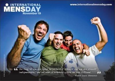 The world celebrates International Men's Day on November 19