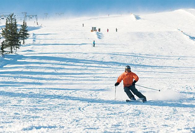 Poles apart: Trysil is closer to the North Pole than it is to southern Spain