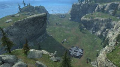A screenshot showing part of 'Halo: Reach's ForgeWorld'