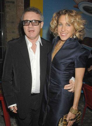 Damien Hirst with Maia Norman.