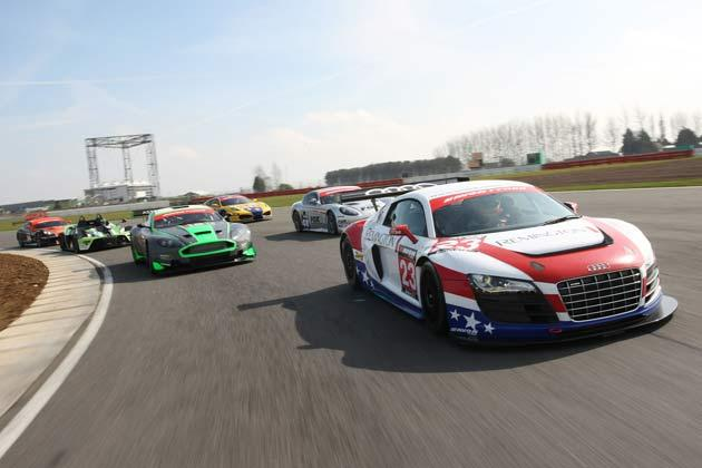 A two-car team of Audis from the United Autosports team are the first declared runners for the 2011 Avon Tyres British GT Championship