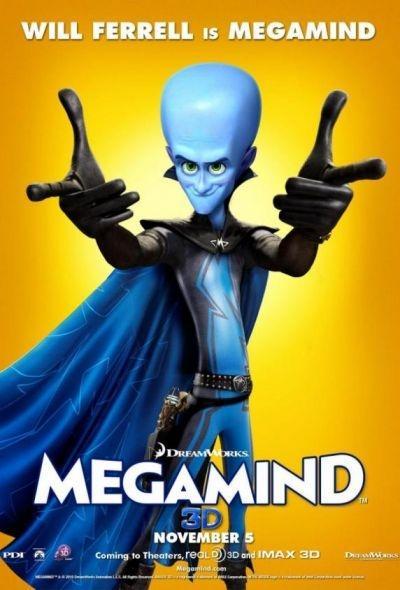 'Megamind' movie poster