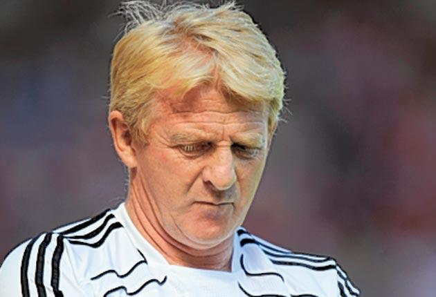 Strachan's time in charge came to an end after a poor start to this season