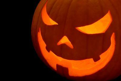 Halloween-related terms were popular across the UK and the United States.