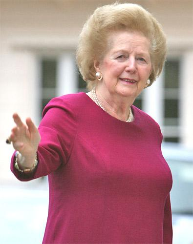 Baroness Thatcher's condition is not  thought to be serious