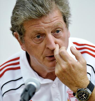 'Some of the more important players didn't travel [to Naples],' said Roy Hodgson. 'I can't risk it'