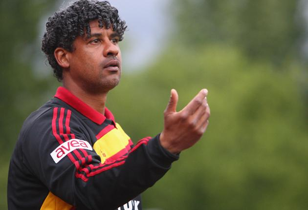 Frank Rijkaard took the helm at the Istanbul club in 2009 after five seasons in charge of Barcelona