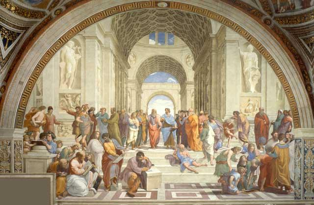 Forgotten philosophers: Raphael's 'The School of Athens' depicts a Muslim thinker