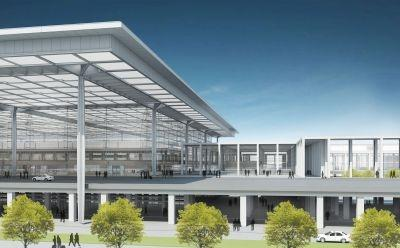 The new Berlin Brandenburg International is set to open in 2012.