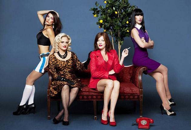 On the verge: Laura Benanti, Patti LuPone, Sherie Rene Scott and Nikka Graff Lanzarone