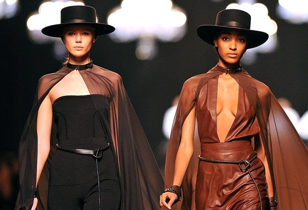 The Hermès ready-to-wear show at Paris Fashion Week. The fashion house LVMH has bought more shares in its rival