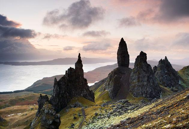 The Storr (Needle Rock and Old Man of Storr), Isle of Skye, Scotland, UK