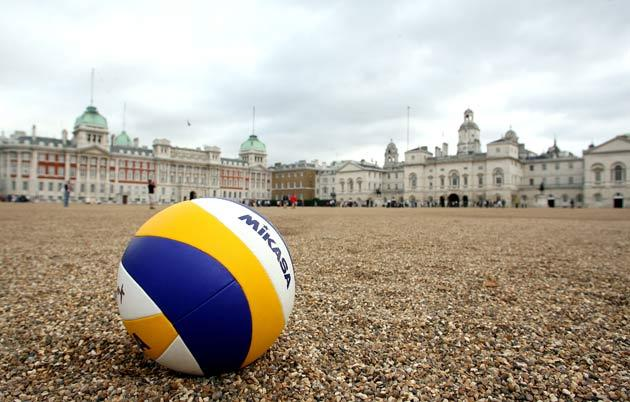 Events will be taking place across London, including volleyball at Horse Guards Parade