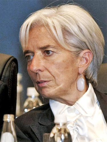 Christine Lagarde: hailed likely return to dialogue as a 'turning point'