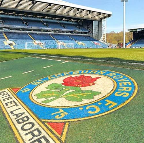 Ewood Park - the home of Blackburn Rovers