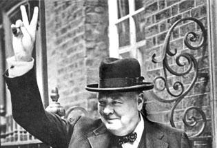 Churchill was seen as both brutal and brutish