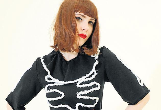Dressed to kill: Kate Nash says she would never throw away her hard work in a sexy photo-shoot