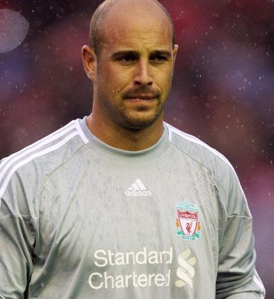Goalkeeper Jose Reina signed a six-year contract at Anfield in April