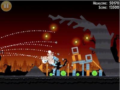 'Angry Birds Halloween HD' iPad app