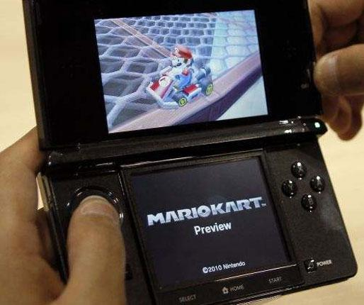 A prototype Nintendo 3DS: the machine will not be on the market for Christmas