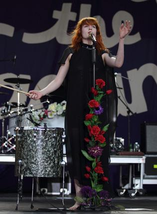 Florence and the Machine often played low-key sets at The Flowerpot