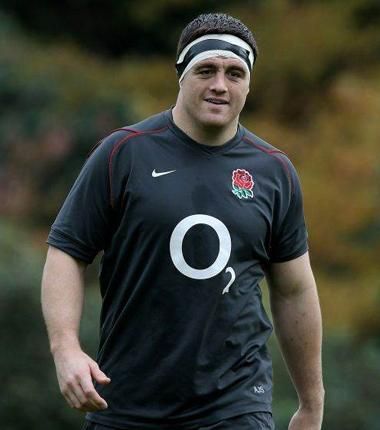 Andrew Sheridan: The 19-stone loose-head prop is due to make his first England appearance since playing against Scotland in the 2009 Six Nations