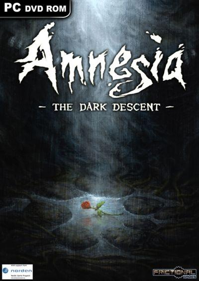 Amnesia: The Dark Descent video game cover (PC, Mac, Linux)