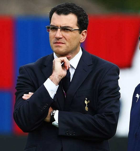 Comolli last worked in England with Tottenham Hotspu