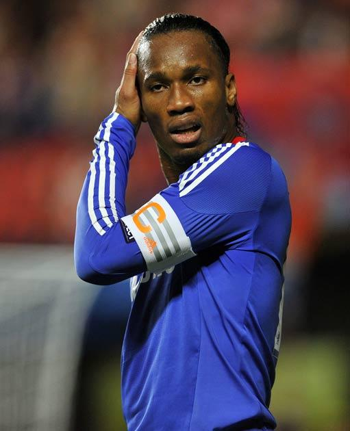 Drogba's Chelsea play Liverpool this weekend