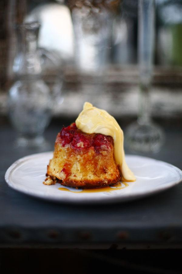 Raspberry and orange pudding is the perfect end to a meal in cold weather