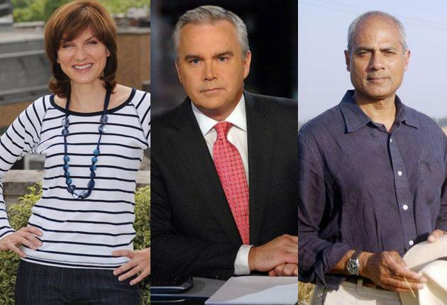 Fiona Bruce, Huw Edwards and George Alagiah are three of the more well-known faces at the BBC who have pledged to join the two-day strike; 85 per cent of the Corporation's 5,000 journalists are expected to back the action