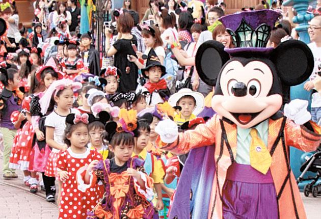 Disneyland opened in Tokyo, above, in 1983 and Hong Kong in 1995. Now the magic kingdom is coming to Shanghai