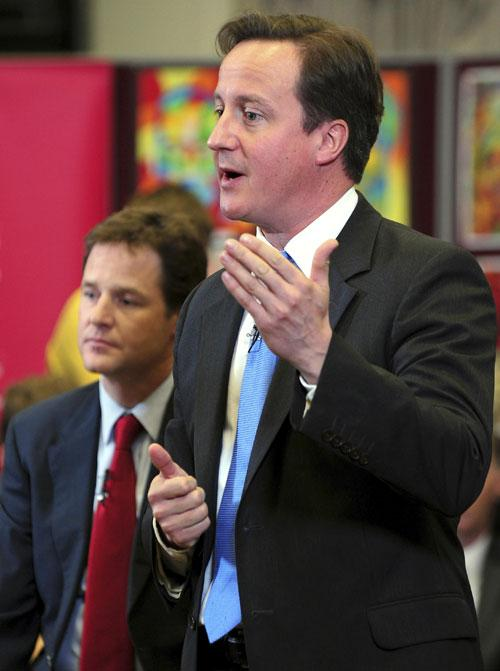 The coalition government under David Cameron and Nick Clegg marks its first six months this week