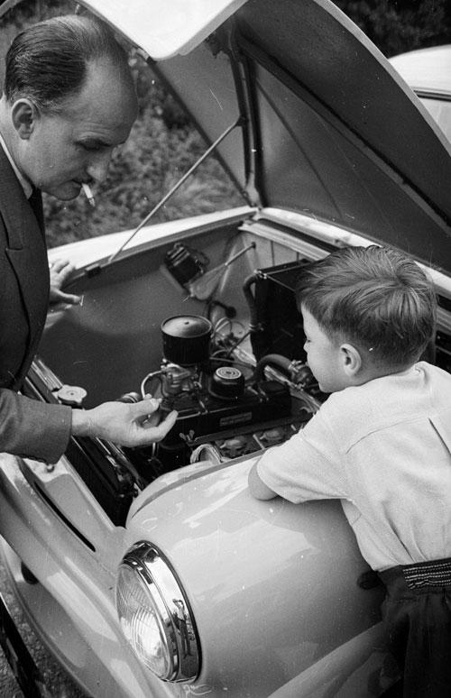 Practical skills are passed from father to son, knowledge that helps define masculinity in our less physically demanding age