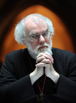 Dr Rowan Williams said he had 'a lot of worries' about the scheme