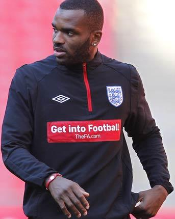 Darren Bent will miss England's friendly clash with France