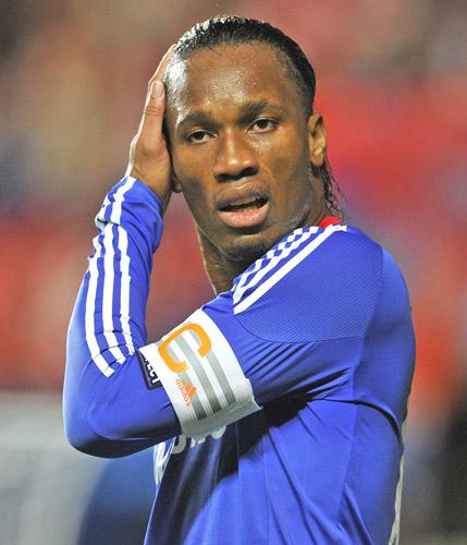 Chelsea suspect Didier Drogba could have contracted malaria when playing for the Ivory Coast during the Africa Cup of Nations in Angola in January