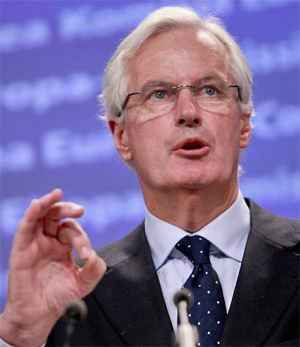 Michel Barnier, the EU commissioner, seems not too keen on being interrogated by MPs