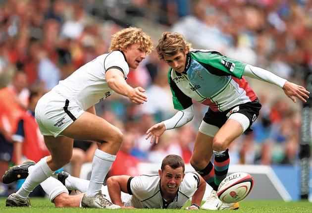 Ollie Lindsay-Hague is the only change in the England Sevens squad for the opening two legs of the HSBC Sevens World Series