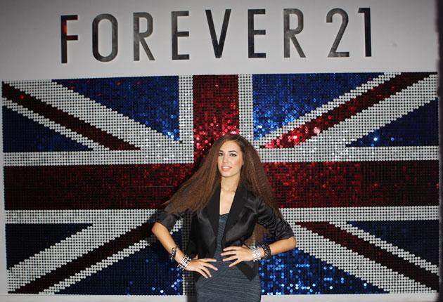 Forever 21's first European store was opened yesterday in Birmingham's Bullring mall by Amber Le Bon