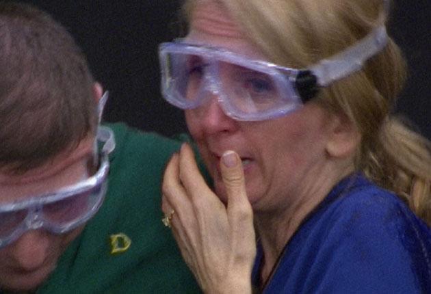 Gillian McKeith braves her first bushtucker trial
