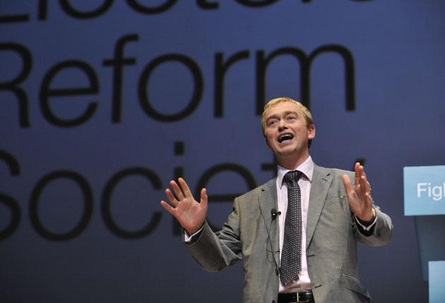 Lib Dem president Tim Farron: 'We're not as pure as the driven snow any more'