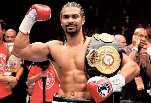 David Haye: 'I didn't go into a betting shop and there was no online betting. It felt like I'd bet on it because a lot of people had put money on my prediction'