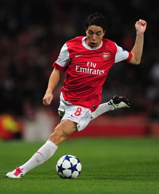 Nasri has been in great form this season