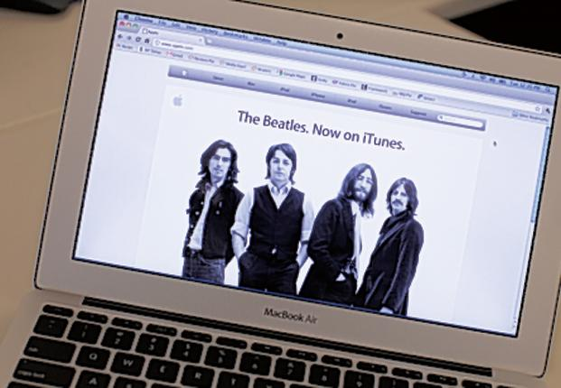 Come together: The Beatles and Apple have made their peace