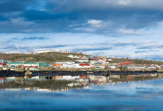 See how the land lies: Iqaluit hosted this year's UK-Canada Colloquium, at which the Arctic's future was discussed